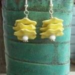 Yellow Shard Earrings